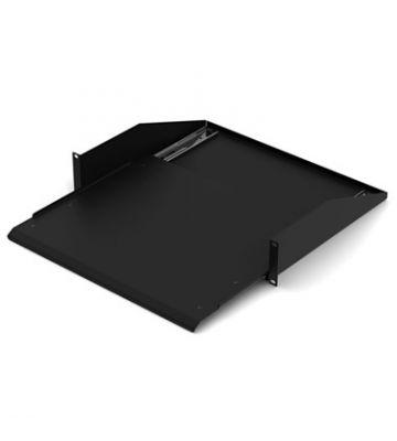 Uitschuifbaar legbord voor minimaal 600mm diepe server- en wandkasten