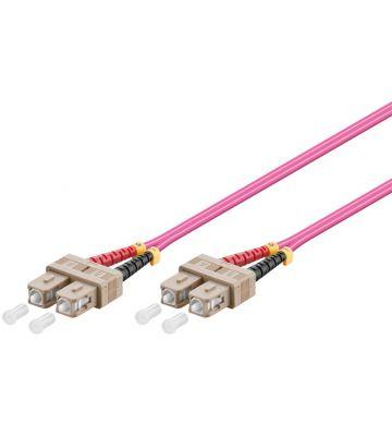 Glasvezel kabel SC-SC OM4 (laser optimized) 3 m
