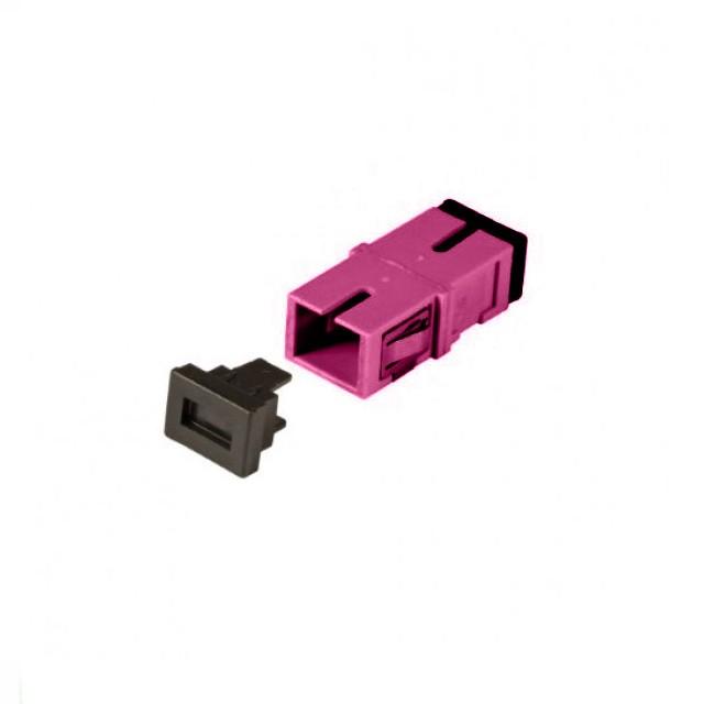 Afbeelding van Multimode keystone koppeling SC-SC simplex paars
